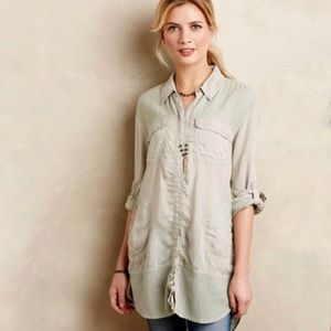 Anthropologie Holding Horses Button Down Shirt